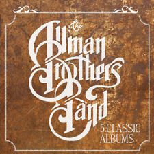 The Allman Brothers Band : 5 Classic Albums CD (2015) ***NEW***