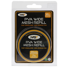 PVA Mesh Refill 35mm x 7 Metres of Wide Mesh NGT Carp Fishing