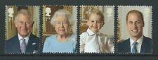 Gran Bretaña 2016 HM La Reina's 90th Cumpleaños Conjunto de 4 ex Hoja En Miniatura