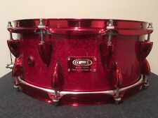 Ocdp Red Sparkle Adrian Young Snare-5.5X14 Orange County Drum Percussion USA