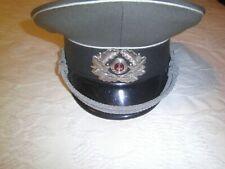 Vintage East German Officers hat Marked 1856Y and NVA57