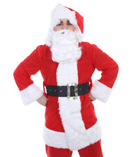 Adult Christmas Party Xmas Holiday Santa Claus Wig And Beard Set Fancy HX-018A
