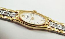 Pulsar by Seiko PEX380 Two-Tone Stainless V220-1620 Sample Watch NON-WORKING