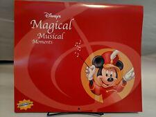 Disney Store Magical Musical Moments 2003 Calendar Ephemera Paper Craft