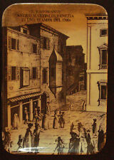 Il Ristorante Antico Martini di Venezia in una Stampa del 1700 Melamine Tray