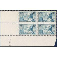 FRANCE COIN DATÉ N°313 FRANCOIS PILATRE DE ROZIER, TIMBRES NEUFS-1936
