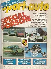 SPORT AUTO 260 1983 SPECIAL PORSCHE 956 911 SC TURBO 3.3 GP ALLEMAGNE & AUTRICHE