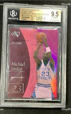 2012 Fleer Retro Essential Credentials Future Michael Jordan /42 #EX1 BGS 9.5 🔥