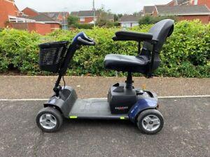 Go Go Elite Traveller Sport 4 Wheeled Portable Travel Mobility Scooter Boot