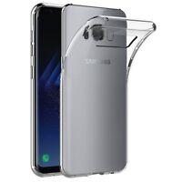 Custodia Cover Morbida Anukku Trasparente Air Gel Per Samsung Galaxy S8 Plus