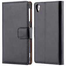 Leather Flip Phone Case for Sony Z1 L36H
