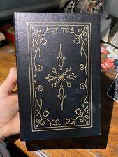 """ABRAHAM LINCOLN"" Carl Sandburg *Easton Press Book (1 VOL. EDITION) Full Leather"