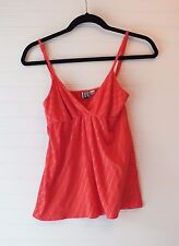 Roxy Spaghetti Strap Baby Doll Top Size Small