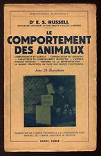 E. S. RUSSELL, LE COMPORTEMENT DES ANIMAUX