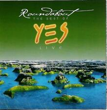 YES - ROUNDABOUT - THE BEST OF LIVE - 7 TRACK CD ALBUM - 2003 DEMON MUSIC