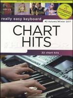 Really Easy Keyboard Chart Hits Autumn Winter 2017 Sheet Music Book Beiber