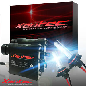 Xentec 6000K Xenon Light HID Conversion Kit White + Tint Blue All Bulb Size