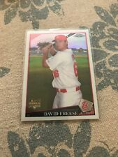 David Freese 2009 Topps Chrome #199 ROOKIE CARD Refractor