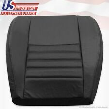 1999-2004 Ford Mustang Saleen Driver Bottom Perforated Leather Seat Cover Black