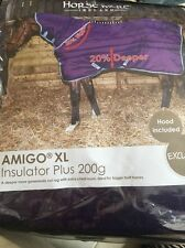 Horseware Amigo XL Insulator Plus Rug 200g Petunia/blue Bell Size 6'0