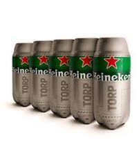 Heineken TORP Bariletto di Birra da 2 Litri x5pz