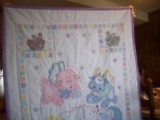 New listing Baby Quilt Handmade and quilted 40 by 56 in. Crib size New