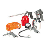 WOW! SEALEY TOOLS AIR TOOL AIR LINE ACCESSORY KIT 5 PIECES - FOR LESS THAN 1 !