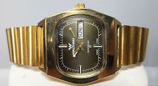 Vintage 1970's Waltham Selfwinding Swiss Made 17 Jewel Automatic Goldtone Watch
