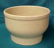 Cream Pottery Pot Planter Hand Crafted Canada Canadian Tan Fleck Gently Used