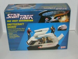 BRAND NEW 1989 Galoob Star Trek The Next Generation Shuttlecraft Galileo SEALED