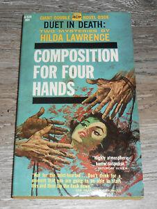 ACE Double G-539 Vintage Paperback 2 Mysteries HILDA LAWRENCE