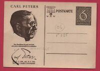 Carte postale ALLEMAGNE. CARL PETERS. Organisateur de la colonisation allemande