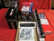 Chevy 350 5.7 MASTER Engine Kit Flat Pistons+Torque Stage 1 Cam springs 1969-79