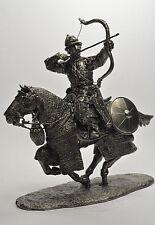 Soldado De Plomo Juguete, mongol Archer, en el caballo, Coleccionable, rara, Regalo, na