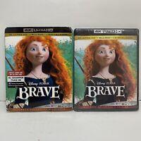 Brave (4K Ultra HD + Blu-ray + Digital copy) With slipcover NEW!