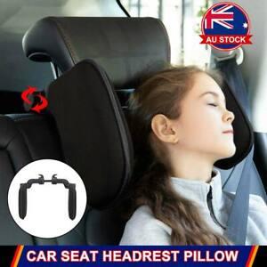 Car Neck Pillow Travel Seat Headrest Pad Sleep Rest Support Cushion Adjustable