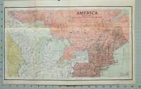 Mapa/Batalla Plan América Norte Sphere Quebec Philadelphia Canada New York