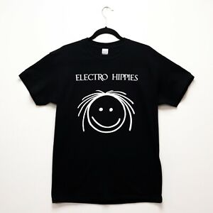 Electro Hippies T-Shirt Black Anarcho Punk Peaceville Anti-Cimex Carcass