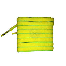 Mr Lacy Slimmies - Yellow & Green Shoelaces - 130cm Length 8mm Width