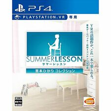 Summer Lesson Miyamoto Hikari COLLECTION  SONY PS4 PLAYSTATION 4 JAPANESE NEW