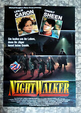 NIGHTWALKER / Courage Mountain * VIDEO-POSTER A1 - Ger 1-Sheet ´91 Leslie Caron