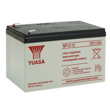YUASA NP12-12 Batería de plomo sellada 12V 12Ah equivalente Fiamm FG21202