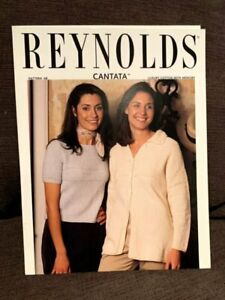 Reynolds Yarns Cantata #68 Textured Jacket and Tee Knitting Pattern