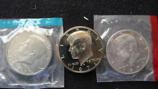 1971 P-D-S KENNEDY HALF DOLLARS FROM MINT & PROOF SETS CONDITION  (SEE PICTURES)