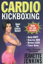 JEANETTE JENKINS THE HOLLYWOOD TRAINER CARDIO KICKBOXING DVD KICK BOXING NEW