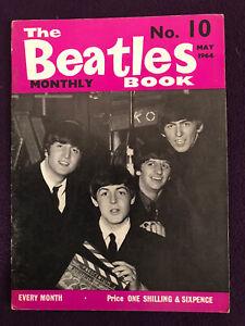 Original THE BEATLES BOOK MONTHLY magazine no.10 May 1964 Lennon McCartney