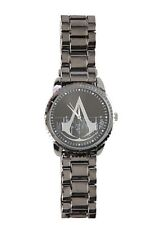 Assassins Creed Logo Big Face Watch Metal Band Strap Gift New In Collectors Tin!