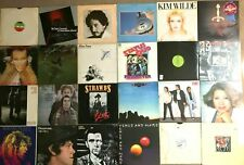 Job Lot / Collection of 24 1970's & 1980s ROCK / Vinyl Records LPs - See Details