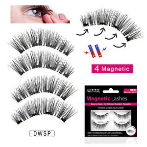 Magnetic Lashes - Double Wispies - False/Fake Eyelashes Wispies - No Glue Needed