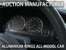 Mazda 626 GD 1987-1992  4- Teilig Aluminium Tachoringe / Tacho Ringe
